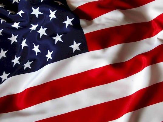U.S. flag emblem
