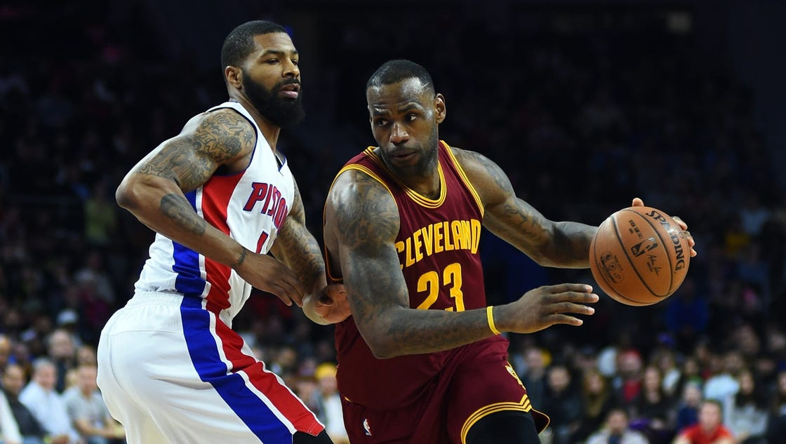 How to watch today's Detroit Pistons-Cleveland Cavaliers Game 1