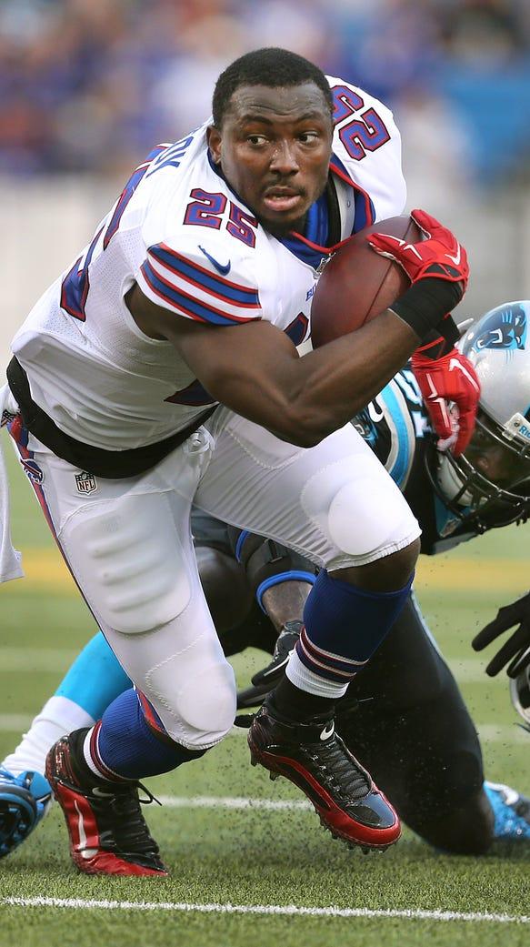 Buffalo Bills running back LeSean McCoy says he'll