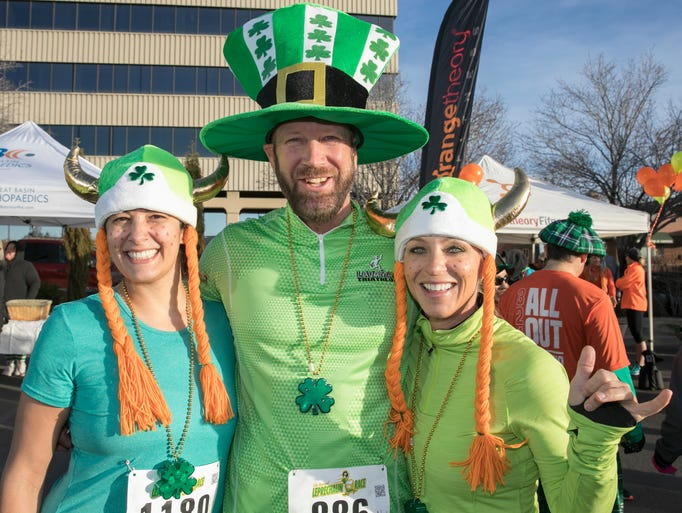 Kim, Will and Mishele during the 5th annual Leprechaun