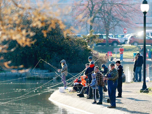 Fishing Derby at Kiwanis Lake