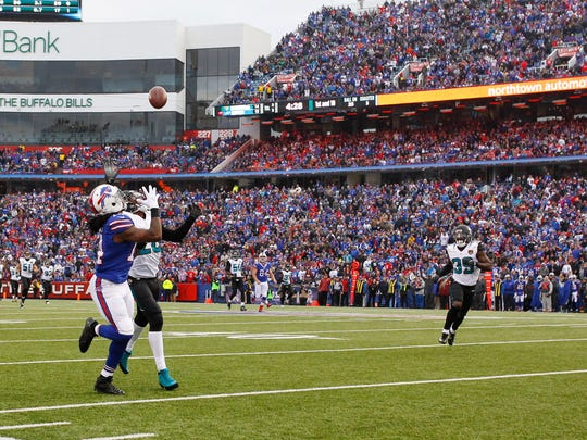 Sammy Watkins beat Jalen Ramsey for a 62-yard reception, one of the biggest plays of Buffalo's 28-21 victory over Jacksonville.