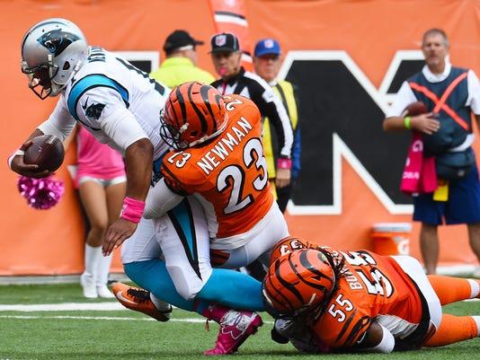 NFL: Carolina Panthers at Cincinnati Bengals