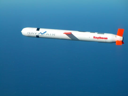 Raytheon-built Tomahawk Cruise Missiles can fly more