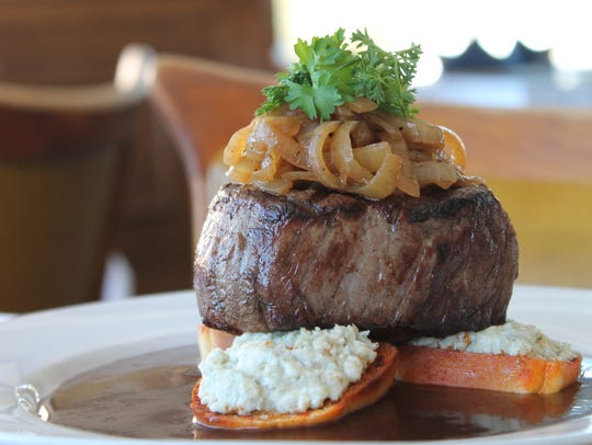 The Galley 57 Signature Steak is served at Galley 57