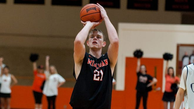 Christ School graduate Will Buckner now plays college basketball for Milligan (Tenn.).