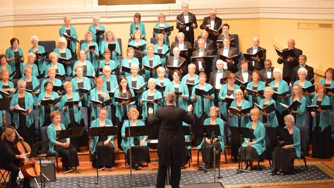 """The Treasure Coast Community Singers will present  """"Curtains Up on Broadway."""""""