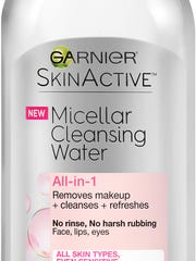 Garnier Skin Active Micellar Cleansing Water $8.99.