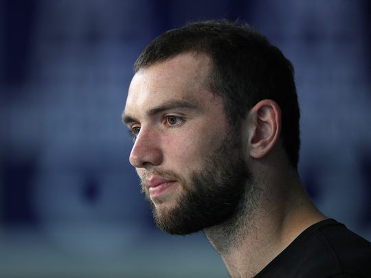 FILE – Colts quarterback Andrew Luck said he believes