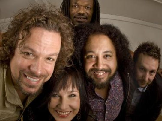 Rusted Root plays the Lilac Festival on May 14.
