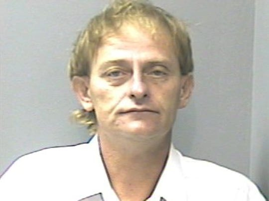 FILE -- Larry Bruce Williamson, 43, from Seymour, was charged with two counts vehicular homicide and one count of driving as a habitual traffic offender for causing an accident on Sept. 26, 2006, on Newport Highway. Newlyweds Brandon and Jenilyn Franklin died in the crash. Photo from Sevier County Sheriff's office.