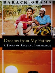 """The cover of the book """"Dreams From My Father"""" by Barack Obama."""