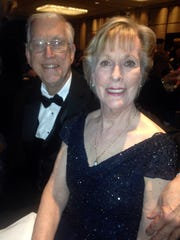Paul and Pat Bippen, of Columbus, are at the Indiana