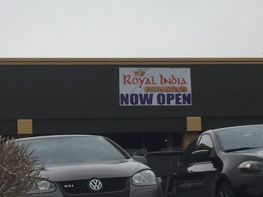 Royal India opened recently in the Save Mart center,