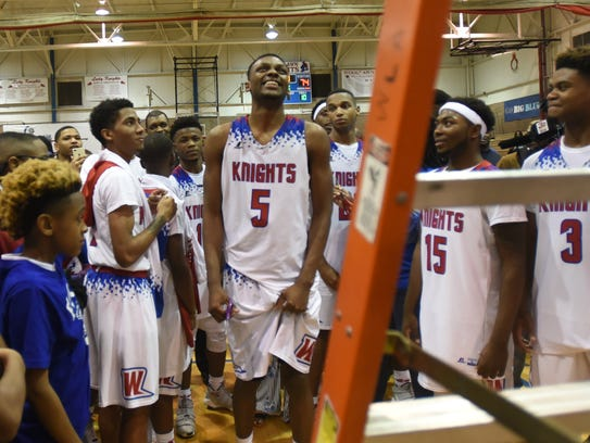 Woodlawn vs. Northside in Class 4A boys basketball
