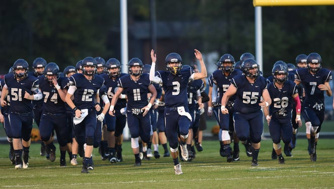 Scenes from Central Catholic Friday night as the Knights hosted Tri-County.