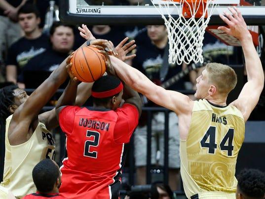 LAF Purdue routs Rutgers