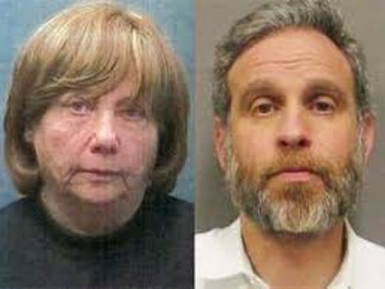 Jeanette Birney and her son Elliot of Monsey was charged