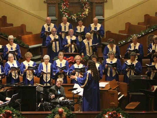 Shepherd of the hills choir 2015