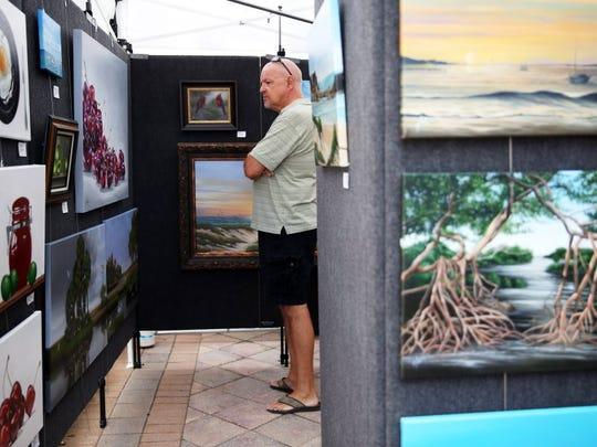 The Left Bank Art Fest returns Sunday, Feb. 9, to the Marco Island Esplanade.