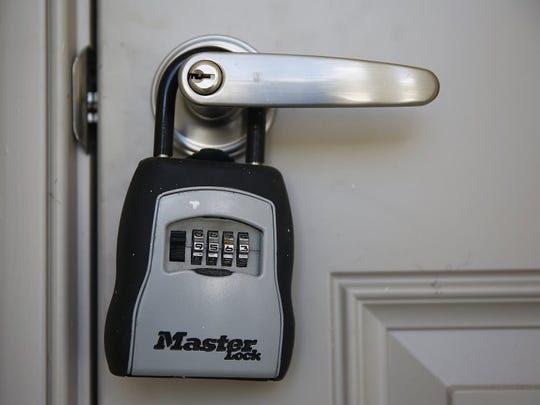 A new home key padlock