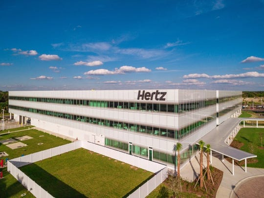 Hertz World Headquarters office in Estero, Florida. (Handout photo)