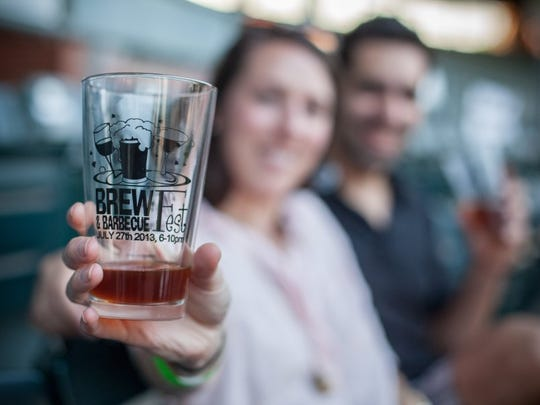 Contributed photo Each attendee to SWIRCA's BrewFest receives a tasting class similar to this one pictured at last year's event.