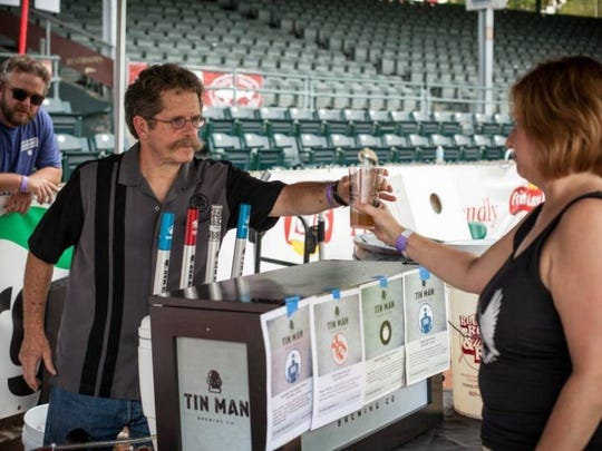 Tin Man and several other local and regional breweries will be featured at this year's BrewFest. Provided photo.
