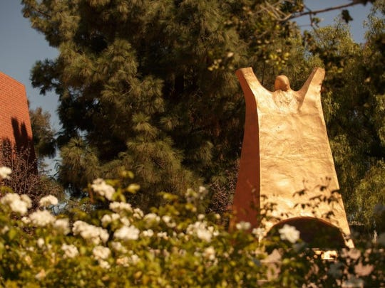 CONTRIBUTED PHOTO Luther statue at California Lutheran University.