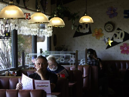 "Vagabond Coffee Shop & Restaurant in Ventura will serve a ""traditional Thanksgiving meal"" from 11 a.m. to 3 p.m. Nov. 23."