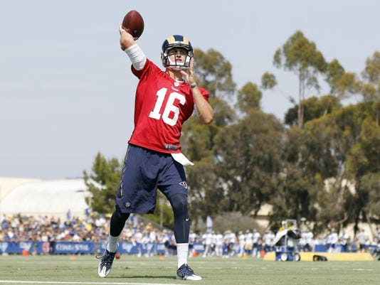 Goff training camp