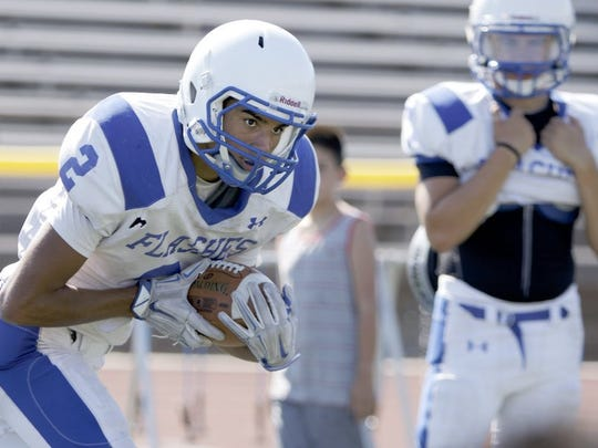 Fillmore's George Tarango was named the top offensive player in the Frontier League.
