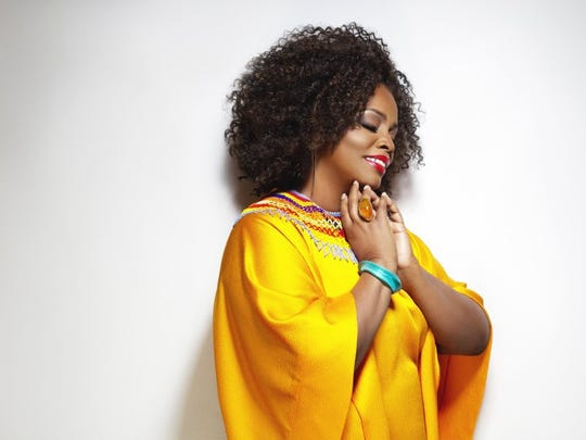 A five-time Grammy winner for Best Jazz Vocal Album, Dianne Reeves performs at Caramoor's Jazz Festival, July 21.