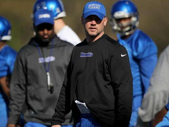 Memphis outside linebackers coach/special teams coordinator Joe Lorig is leaving for a job at Texas Tech.