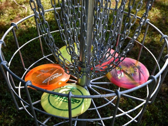 MICHAEL PATRICK/go knoxville The Knoxville Disc Golf Association will host a 12-hole Par 2 Disc Golf Tournament at 10 a.m. Sunday at Morningside Park. More info: http://www.knoxdiscgolf.org.