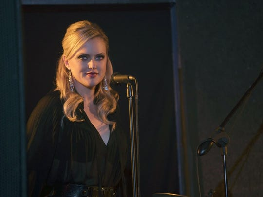 "Elaine Hendrix starred as Ava in FX's ""Sex & Drugs & Rock & Roll."" She now plays Alexis Carrington in the remake of ""Dynasty."" (Ali Goldsein/FX)"