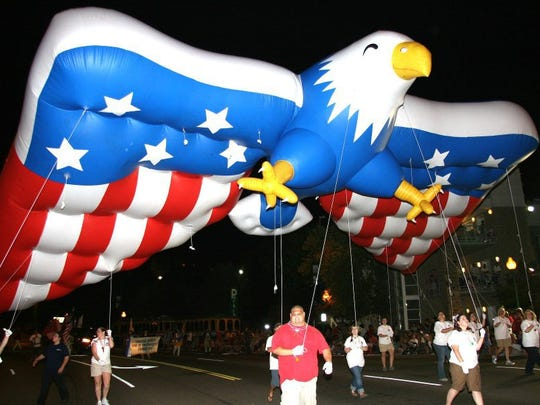Gatlinburg hosts the nation's first Fourth of July parade at 12:01 a.m. July 4.