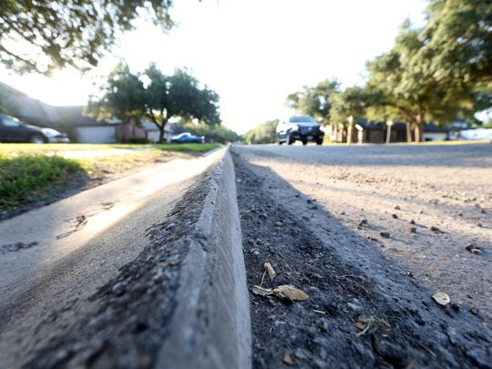 RACHEL DENNY CLOW/CALLER-TIMES FILE PHOTO Fox Run Road and other city residential streets, are failing throughout Corpus Christi. City leaders are asking voters in the upcoming General Election to approve measures to fund a residential reconstruction program.