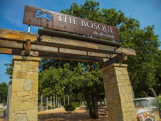 "The Bosque, referred to as ""El Bosque,"" is a recreational hub along the river downtown."
