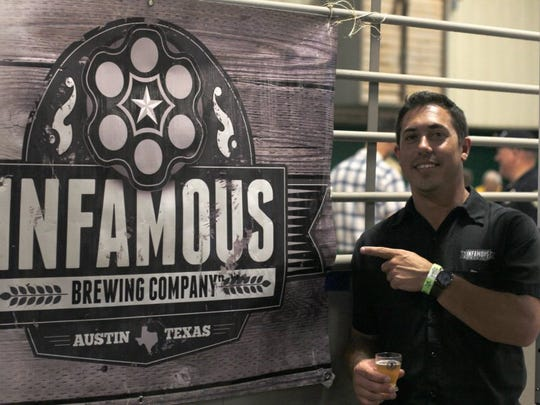 Matt Bitsche, co-founder of Infamous Brewing Company, has returned to Wichita Falls but still owns a small percentage of the Austin-based brewery.