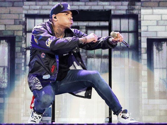 Chris Brown, Trey Songz And Tyga In Concert - Los Angeles, CA