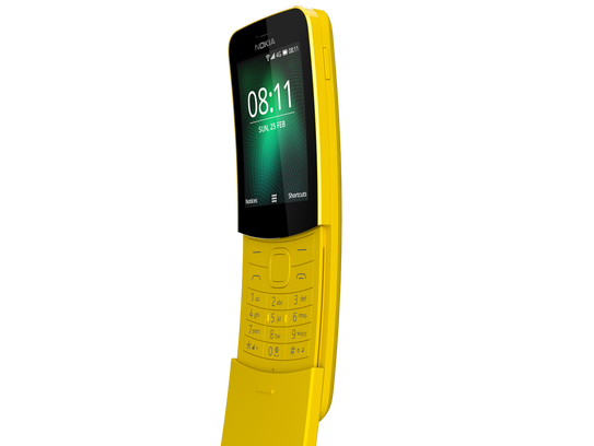 Nokia's 8110 is making a comeback.