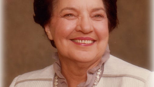 Evelina Dejean Abdalla, 99  Co-owner of Abdalla's Department Store.