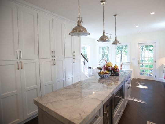 This a view of the kitchen in Amy and Jason Gnagy new dream home in New Rochelle July 29, 2016.  The Gnagy thought they lost their dream home in the bidding war, but the winner of the bid backed out and the Gnagys went into the second round of bidding and managed to secure the home.