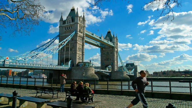 London is one of the top five most popular destinations for this summer, according to an American Express Travel survey.