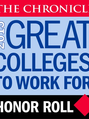 The Chronicle Great Colleges to Work For