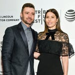 Jessica Biel hosts the Baby2Baby Mother's Day event