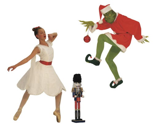 """The Nutcracker vs. the Grinch"" mashes up two holiday favorites the celebrate the Yellowstone Ballet Co.'s 25th season."