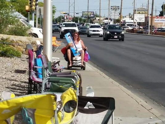 Wheelchair user photo