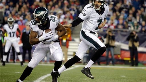DeMarco Murray had just eight carries for 24 yards Sunday against New England.